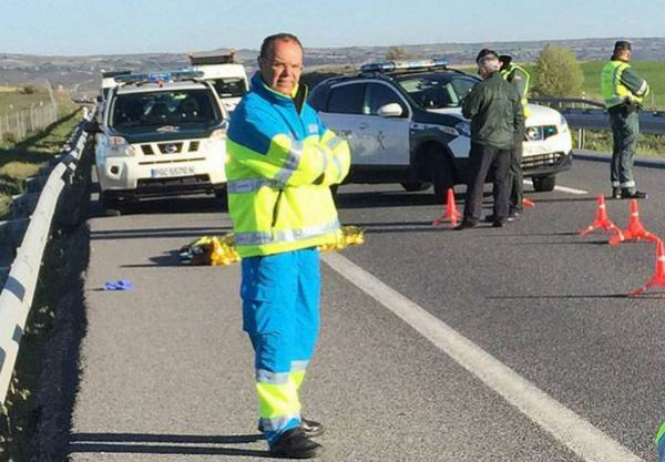 Guardia civil que mató a un conductor